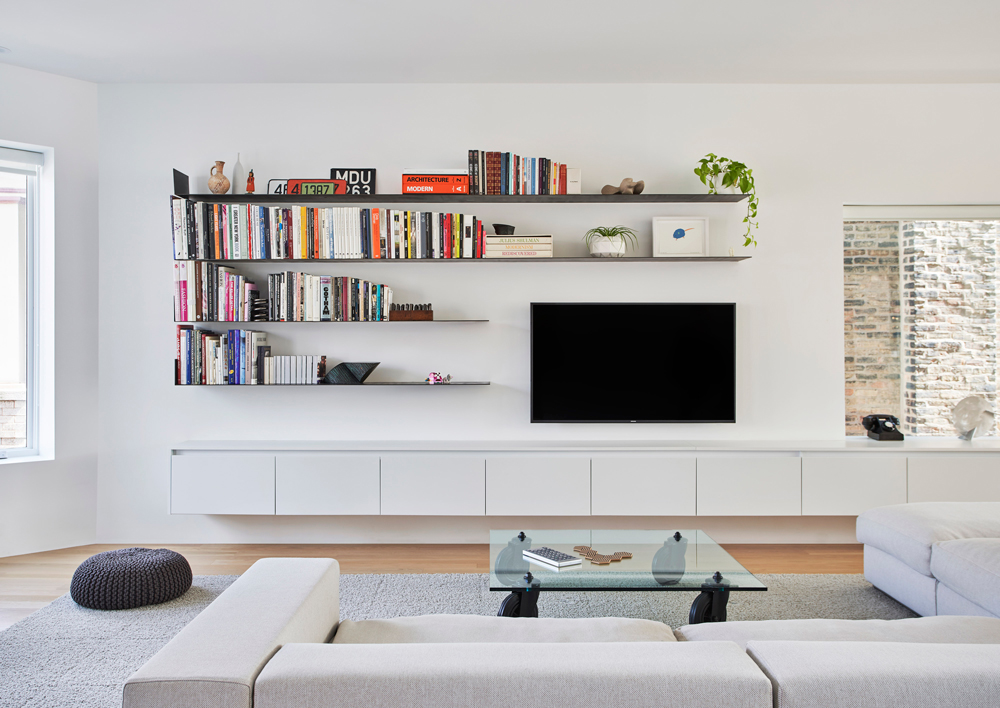 small living room storage – modern house