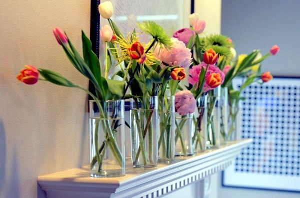 Creative flowers decoration ideas for your room smart - Flower vase decoration ideas ...
