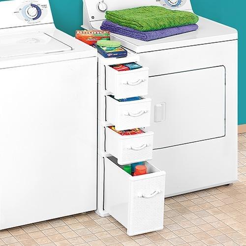 Wicker Laundry Organizer