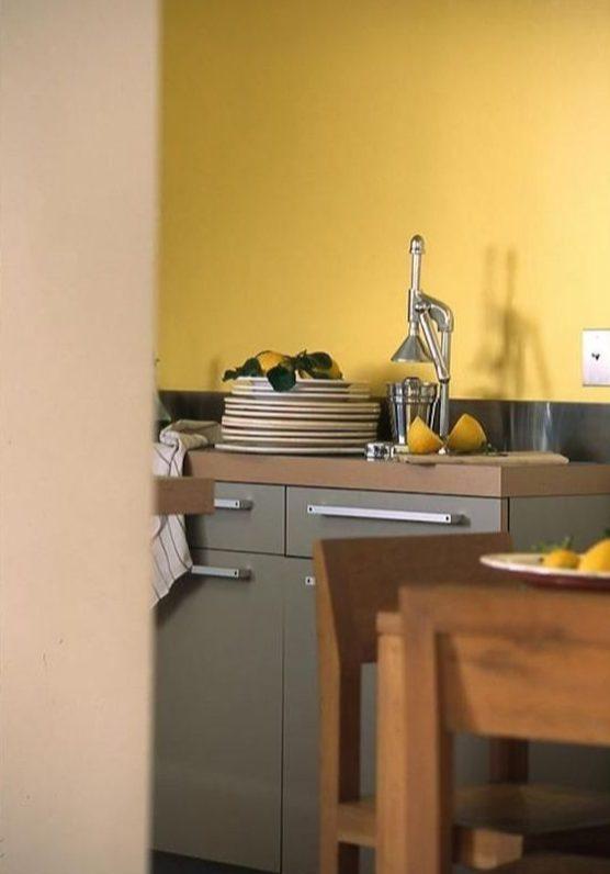 Khaki and mustard yellow