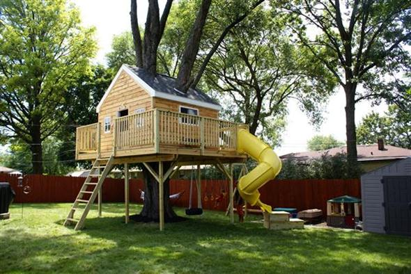 Coolest Tree Houses For Kids