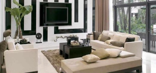 Decorate a modern living room